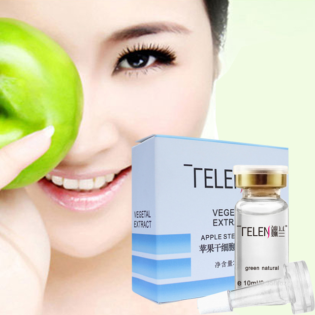 2pcs Apple Stem Cell Hyaluronic Acid Serum Treatment Face Cream Skin