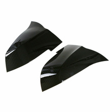 1 Pair of Car Rearview Mirror Covers For BMW M3 F20 F30 F34 F36 Carbon Fiber Side Cap Cover car accessories