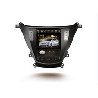 CHOGATH 10.4 ''android 7.1 Vertical Screen system 2+32G Car Radio GPS Multimedia Stereo for Hyundai Elantra 2010 2018 with maps