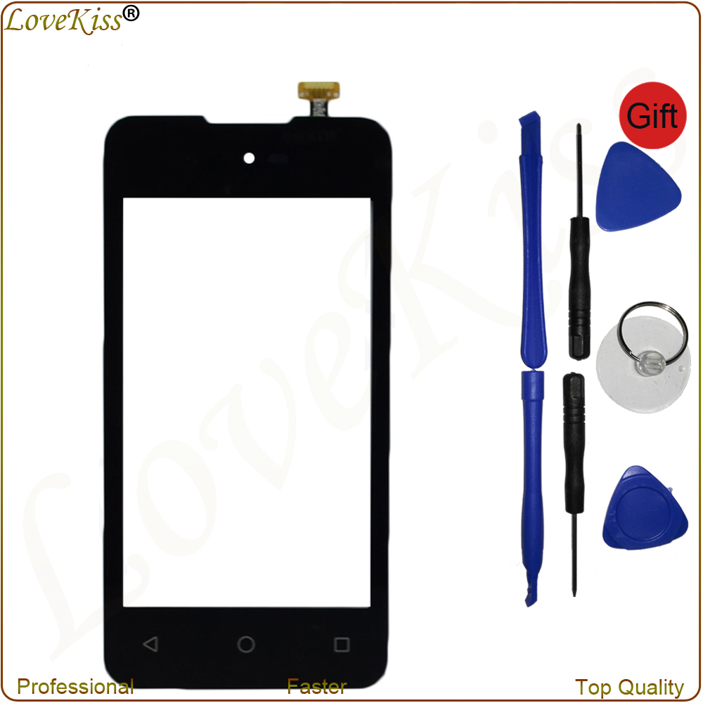 4 Mobile Phone Touch Screen For Micromax Bolt D303 Sensor Digitizer Touch Panel LCD Display Outer Front Glass Lens Replacement