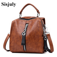 Vfemage Cow Leather Handbags Women Bags Designer Girls Small Flap Bags Crossbody Bag for Women Multifunction Bag 2019 Retro Sac