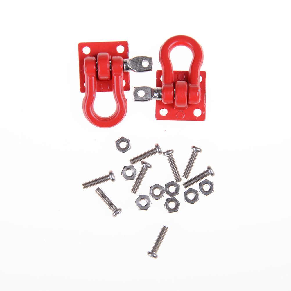 Topคุณภาพ 1:10 RC Rock Crawlerอุปกรณ์เสริมTow HookสำหรับAxial SCX10 ปีนเขารถบรรทุกรถพ่วงHookอะไหล่-ที่มีประสิทธิภาพ