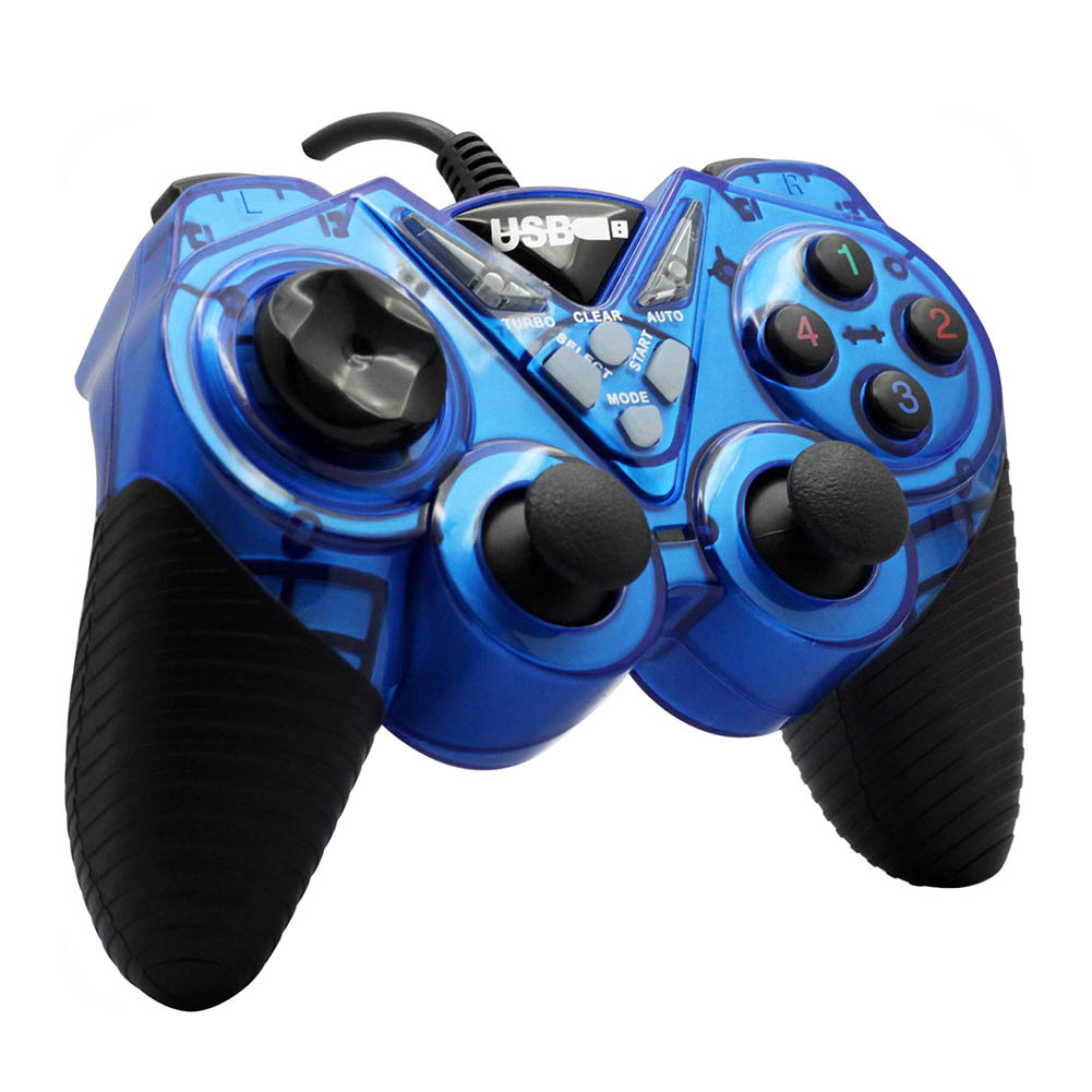 2016 Real Selling Usb Gamepad Double Shock Joystick Controllers For Wi