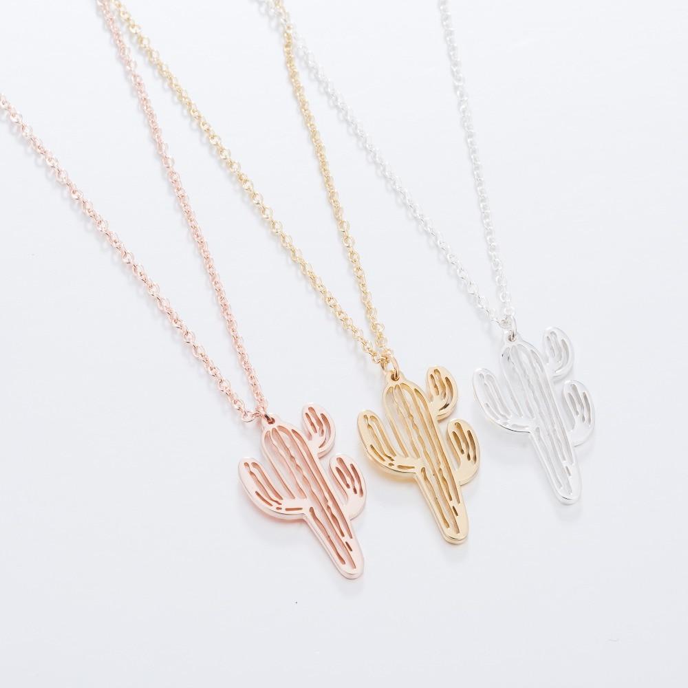 2-Daisies-Cactus-Decor-Decoration-Necklace-Women-Plant-Necklaces-Pendants-Choker-Bijoux