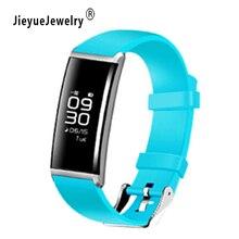 Colorful Heart Rate Monitor Podómetro Inteligente Relojes Hombres Mujeres Deportes Relojes Digitales Relogio Del Reloj de pulsera Rastreador de Ejercicios Relogio