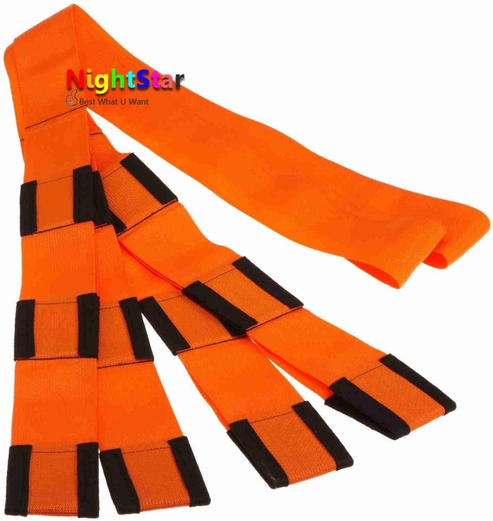 оранжевый перемещение веревки ремни предплечье погрузчики