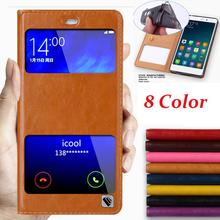 Hot!!! For Xiaomi Mi M Note 5.7 Inch High Quality Genuine Leather Cover Case Luxury Flip Stand Mobile Phone Bag