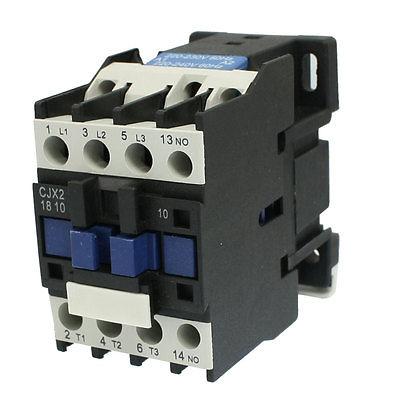 цена на CJX2-1810 AC Contactor 18A 3 Poles One NO 220-230V 50Hz Coil