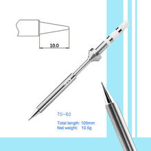 Перо типа TS-100 TS-B2 Цифровой ЖК Регулируемая температура Электрический паяльник Для паяльной станции