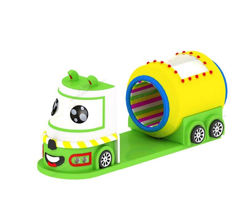 Jouets électriques mous d'intérieur d'amusement d'enfants, terrain de jeu mou d'enfants, équipement mou de jeu de bande dessinée