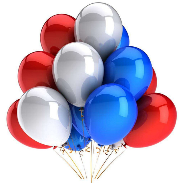 10Pcs 12inch Glossy Metal Pearl Latex Colorful Balloons For Birthday Party And Wedding 1