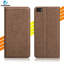 Luxury Retro PU Leather Case For BQ Aquaris M5.5 / BQ M5.5 Mobile Phone Filp Cover Case & Kickstand Function