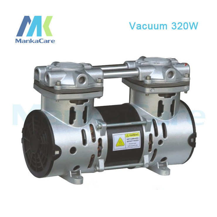 Manka Care - 110V /220V (AC) 50L/MIN 320W Mini Piston Vacuum Pump/Silent Pumps/Oil Less/Oil Free/Compressing Pump