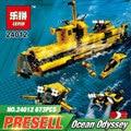 Lepin 24012 Creative The Underwater Explora Ship Set Children Educational Building Blocks Bricks Education Boy`s Toys Model 4888