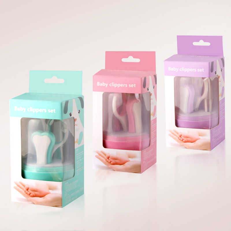 Набор ножниц для ногтей для новорожденных, 5 шт., триммер для стрижки, удобный ежедневный маникюрный набор из нержавеющей стали
