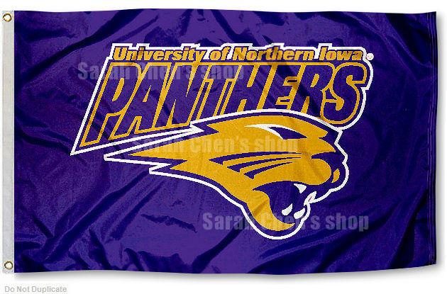 University of Northern Iowa Panthers Flag UNI Large 3x5-in ...