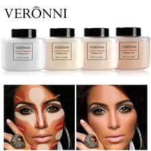 Banana powder Loose Luxury Powder Professional Foundation VERONNI 4 Colors 42g Translucent Mineral Makeup Baking Face