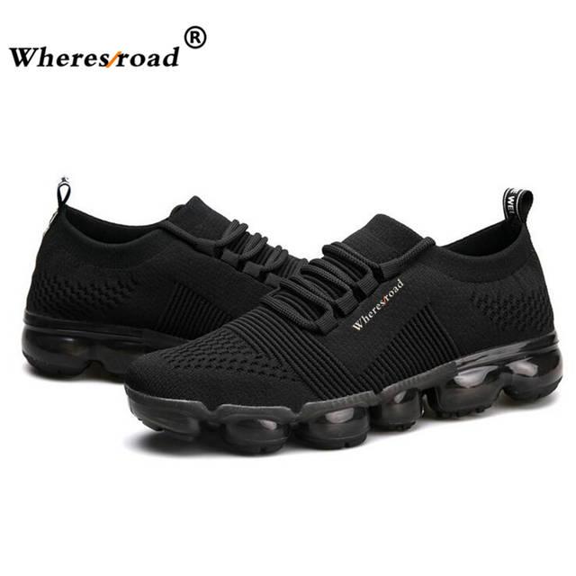 5e8853992eb83a US $49.99 |Wheresroad 2018 Neue Super Licht Männer Air Mesh Komfortable  Casual Schuhe Sommer Mode Sneaker Schuhe MAX schuhe für männer Größe 39 ...