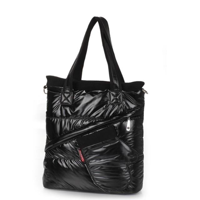 2017 Hot New Women Winter Mobile E Glove Bag Female Down Bags Cotton Padded Jacket Shoulder Handbag Christmas Gift