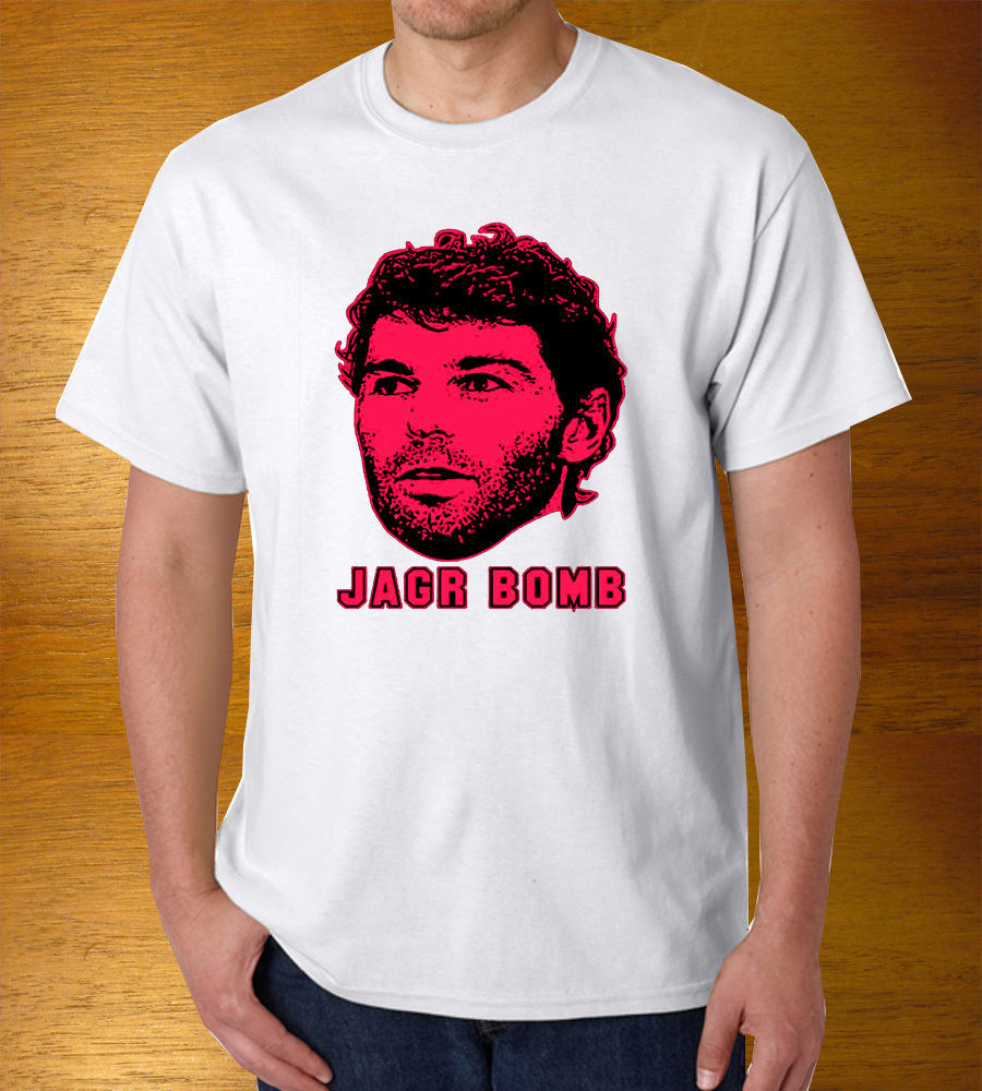 Good T Shirt Designs  Graphic Men Pure Jaromir Jagr Hockeyer Jersey Bomb Office O-Neck Short-Sleeve Shirts