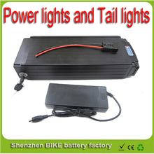 24V 50ah battery electric bike bicycle rear lithium in rechargeable charger scooter Power lights Tail lights For Samsung cell