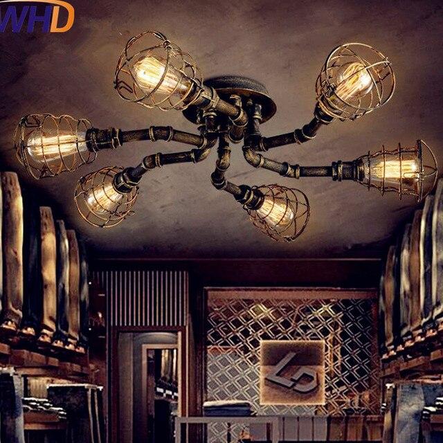 IWHD Tubo Dell\'acqua Retro Vintage Plafoniere Soggiorno Edison Loft ...