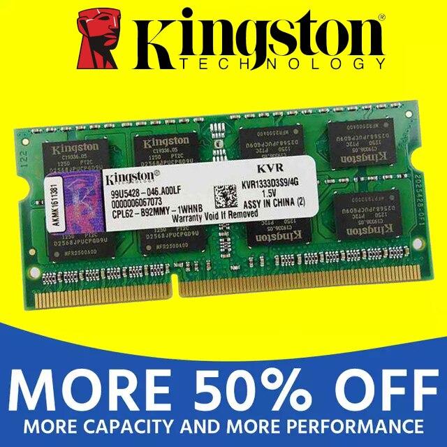 Kingston notebook Laptop RAM Memoria Module DDR2 800 667 MHz PC2 6400S 1GB 2G 2GB 4G 4GB 8GB DDR3 1333 1600 MHz PC3-12800 2