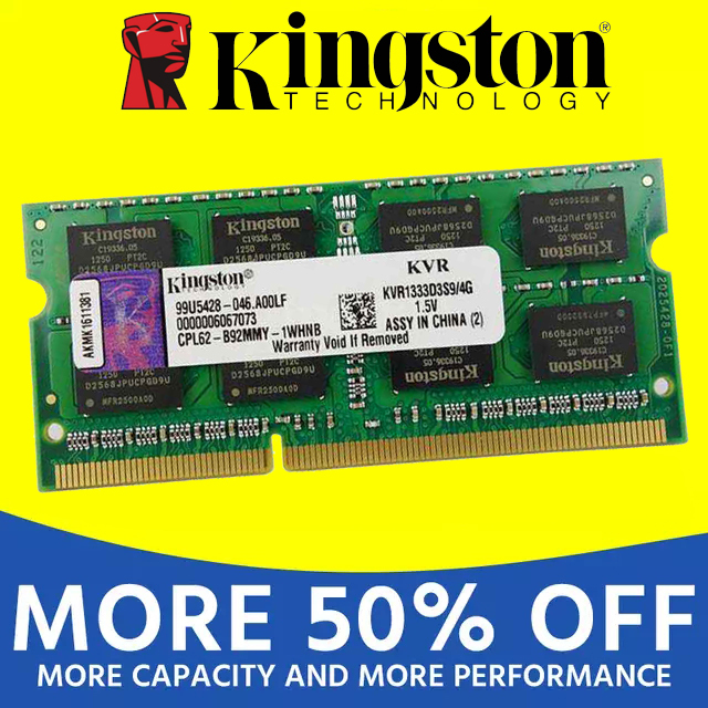 Kingston notebook Laptop RAM Memoria Module DDR2 800 667 MHz PC2 6400S 1GB 2G 2GB 4G 4GB 8GB DDR3 1333 1600 MHz PC3-12800 2