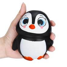 Popular cute penguin gifts buy cheap cute penguin gifts lots from ship from us squishy toys cute penguins squishy slow rising cream scented decompression toys for children kids easter gift anti stress toys negle Image collections