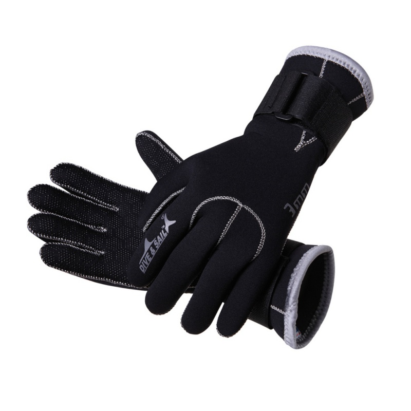 2018 New Diving Gloves 3MM Neoprene Slip Wearable Scratch Diving Snorkeling Surf Gloves