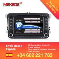 Hot!Mekede car gps dvd Car Multimedia player for skoda yeti superb rapid fabia octavia VW polo golf 5 6 passat B6 tiguan jetta