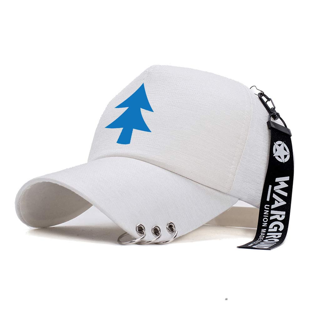 Gravity Falls Dipper Pines Mabel Pines Baseball Cap Ohcomics Creative Piercing Ring Punk Gorrasbone Hiphop Outdoor Snapback Caps Catalogues Will Be Sent Upon Request Boys Costume Accessories