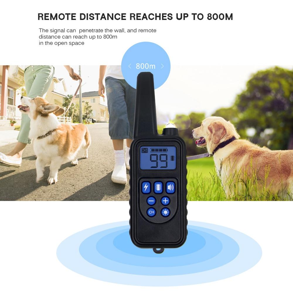 Remote Control Waterproof Dog Training Electric Shock Collar  1