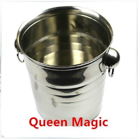 Wonderful Coin Bucket,Coin Pail - Magic tricks, Coin Magic,Illusion,Gimmick,classic toys,accessories