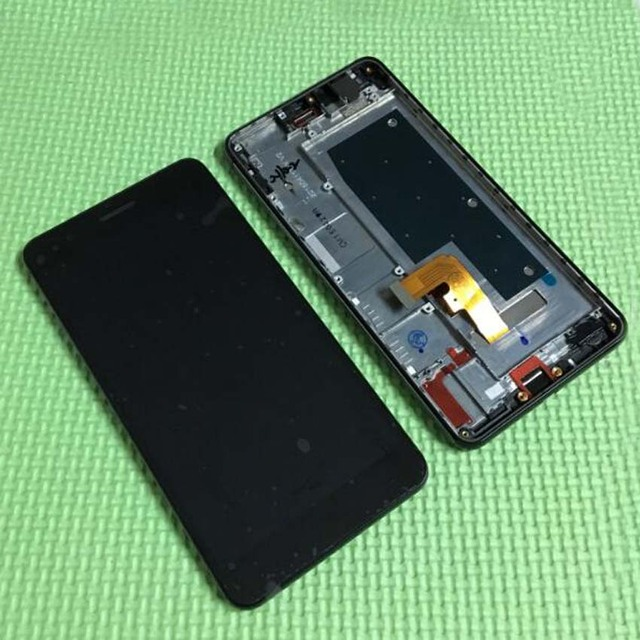 2016 Top Sale Test Work LCD Display Touch Screen Digitizer Assembly With Frame For Huawei Honor 6 Plus Mobile Phone Replacement