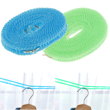 3/5m Strong Polypropylene Washing Line Clothes Hanging Rope Clothesline Outdoor Camping Tent Drying Hanger Rack