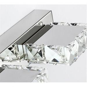 Image 4 - Carré K9 6W cristal salle de bain luminaires Led bain vanité appliques murales lumière chambre couloir applique rétro intérieur applique