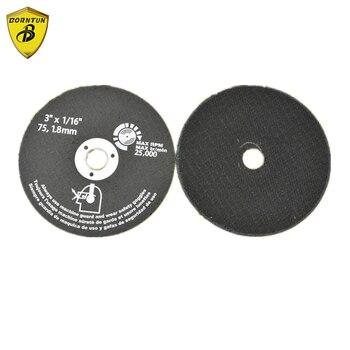 цена на Borntun Resin Sanding Disk Grinding Wheel Cutting Disc Polishing Pads Cutting Pad for Stainless Steel Metal
