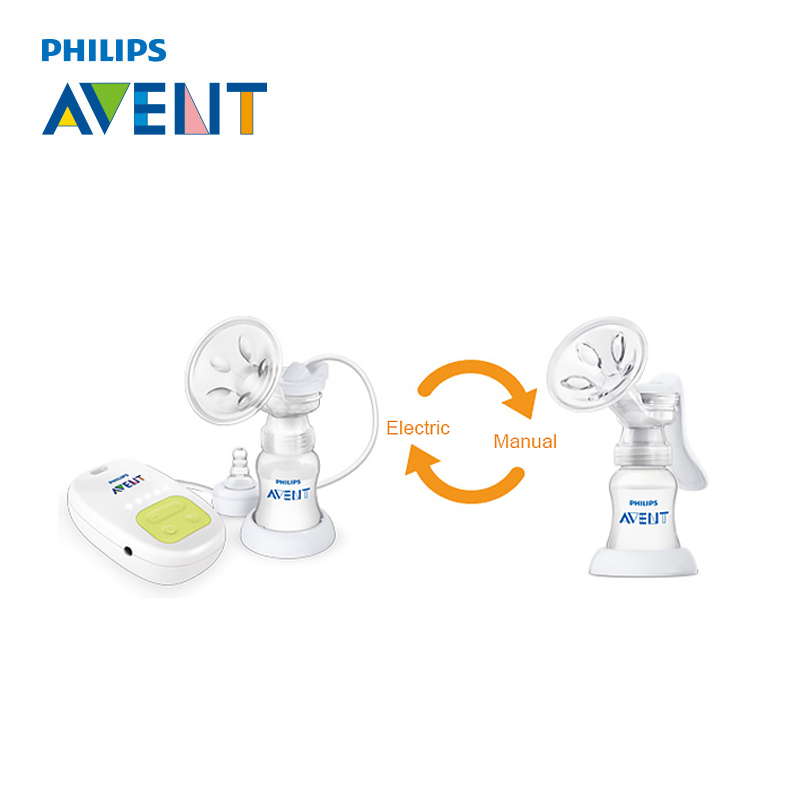 AVENT Single Manual Breast Pump Electric Automatic Massage
