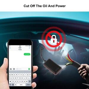 Image 2 - Mini GPS Tracker de voiture étanche IP66, localisateur GPS pour véhicule automobile, dispositif de surveillance de véhicule, alarme de Vibration, application Web gratuite