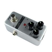 Anti-skid Aluminum alloy KOKKO FCP2 Mini Compressor Pedal Portable Guitar Effect Pedal 9V DC 300mA Musical Instruments Effects