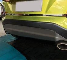 Подходит для Hyundai Encino Kona 2018 2019 автомобильные аксессуары Стальной Хромированный серебристый задний багажник Задняя крышка для ворот литье у...