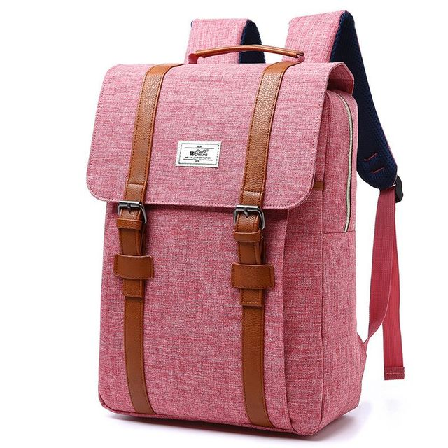 2018 Vintage Men Women Canvas Backpacks School Bags for Teenagers Boys Girls Large Capacity Laptop Backpack Fashion Men Backpack 2