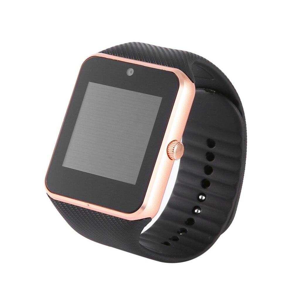 Bluetooth Smart Uhr GT08 Smartwatch Unterstützung TF SIM Karte Touchscreen GT 08 Armbanduhr Gesundheit Monitor Für IOS für Android telefon