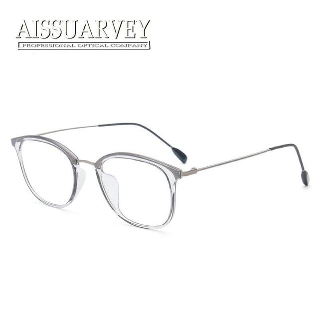 07d89df18f088 Special Light Eyeglasses Frame Men Women Vintage Simple Grey Pink Optical  Glasses Brand Designer Prescription Clear Transparent