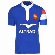 2018 2019 new French Rugby jerseys T-shirt European Size: S-3XL Free Shipping(China)