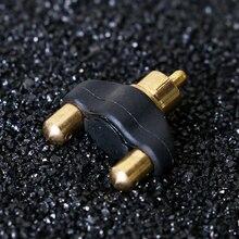 QINK мини-адаптер от RCA Jack к зажиму шнура соединитель для татуировки пулемет 2 шт