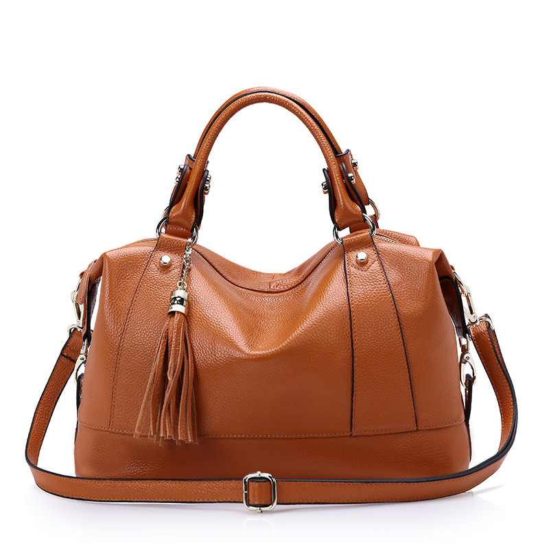 CHISPAULO 2017 Women Genuine Leather Handbags Tassel Women's Messenger Shoulder Bags Bolsa Femininas Crossbody Vintage new C129