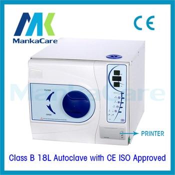 Big Discount 18L Dental Sterilizer Medical Surgical Autoclave Vacuum Steam Datal Printing