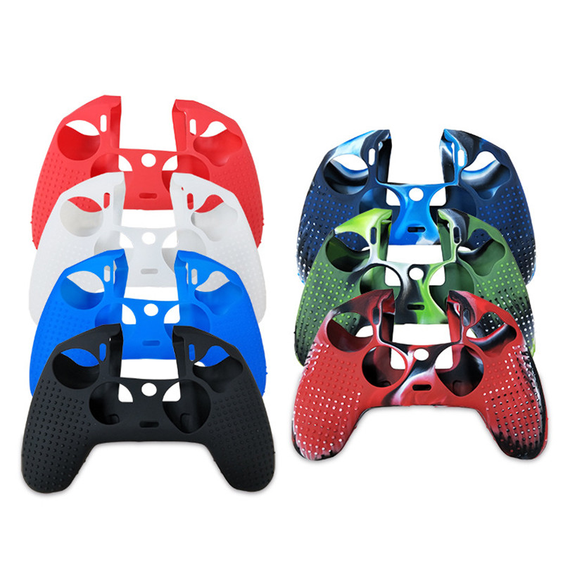 Silicone Soft Case Skin Grip Cover Protective for Playstation 4 PS4 Nacon 2 Controller High Quality (5)